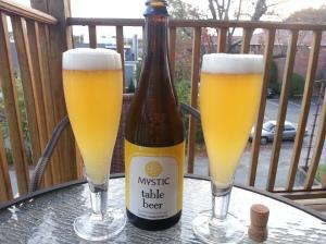 Mystic table beer