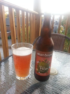Slumbrew Sittin on hop of the world