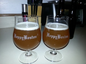 Hoppy Boston Hopsters Belgian IPA