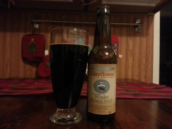 Mayflower Oatmeal stout