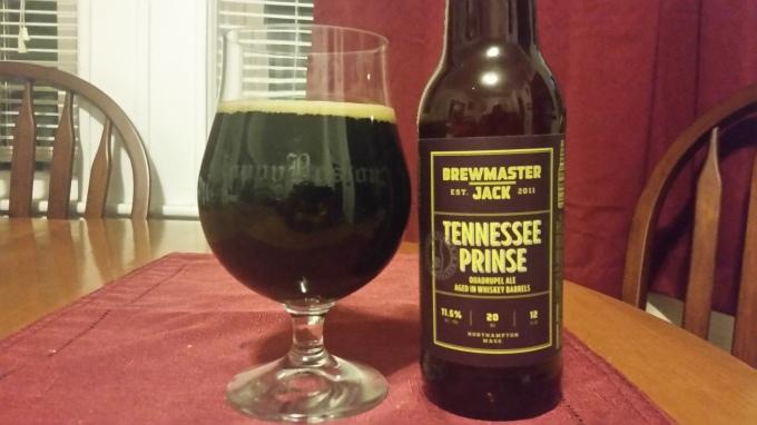Brewmaster Jack Tennessee Prinse
