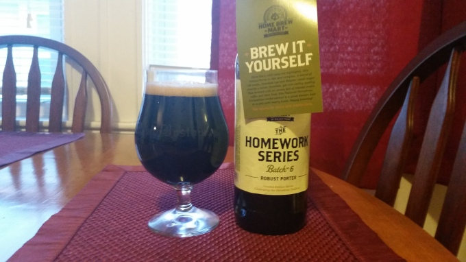 Ballast Point Homework Series Robust Porter