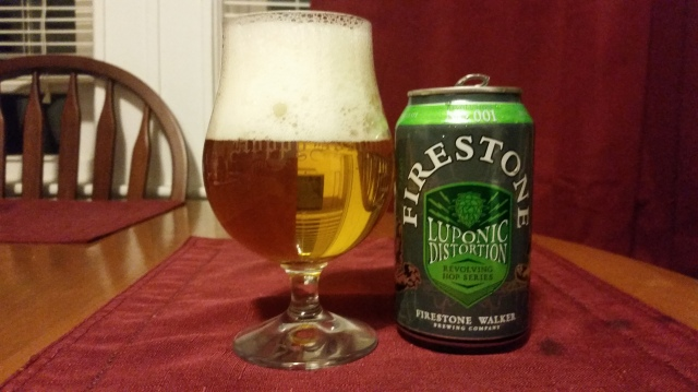 Firestone Walker Luponic Distortion 1