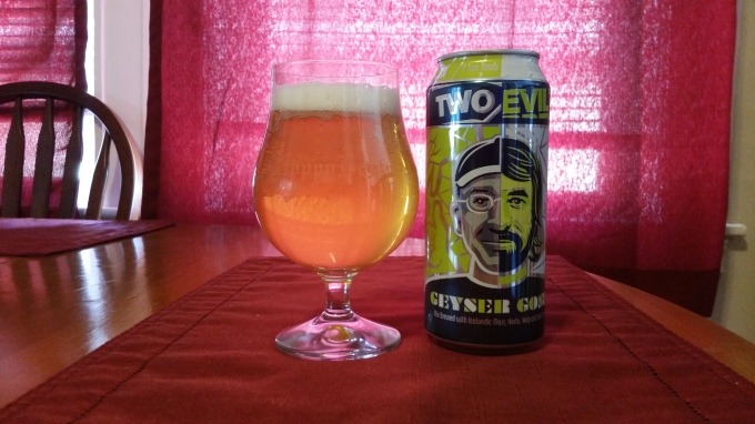 Two Roads Evil Twin Geyser Gose