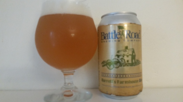 Battle Road Barrett's Farmhouse Ale