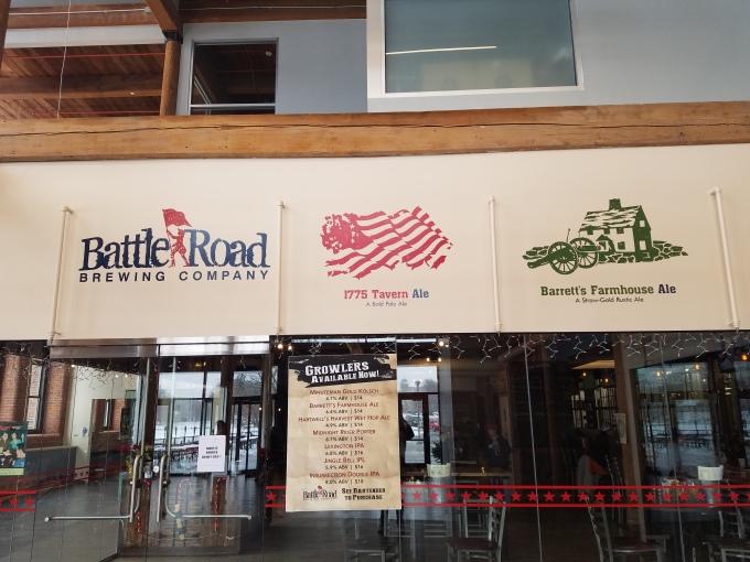 Battle Road Brewery 1