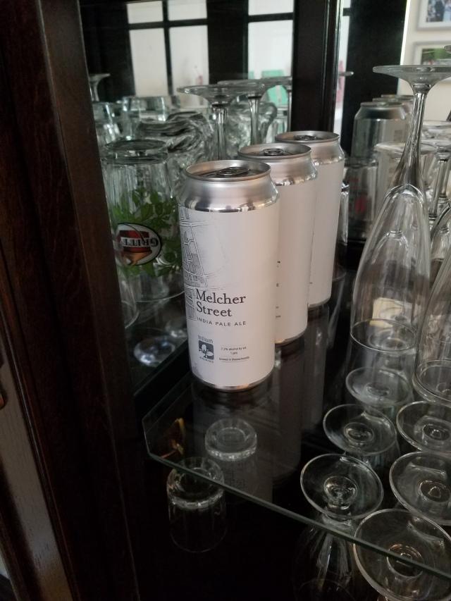 Melcher on the shelf