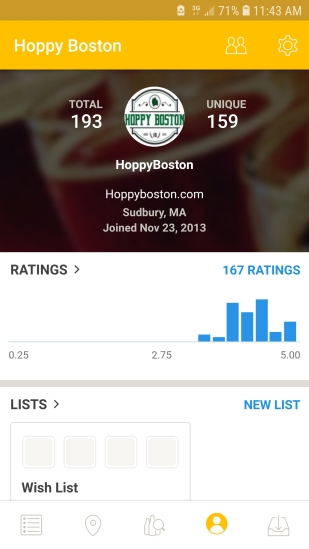 Untappd front