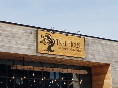 Tree House Front Sign